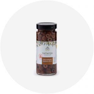 Ελιές καλαμών ροδέλες βάζο 200g - Γαϊτατζή, Δάτο Καβάλας